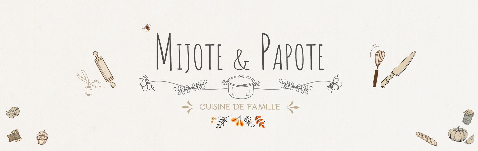En-tête Mijote & Papote