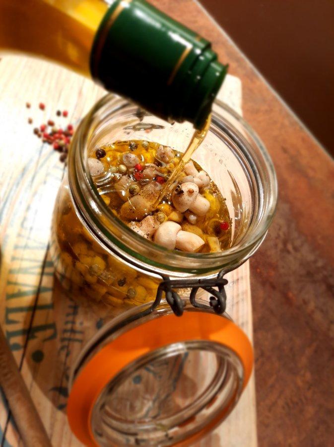 Recette de rosés des prés en condiment - Mijote et Papote
