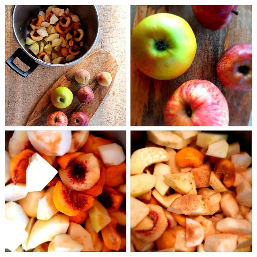 compote de pommes - mijote et papote