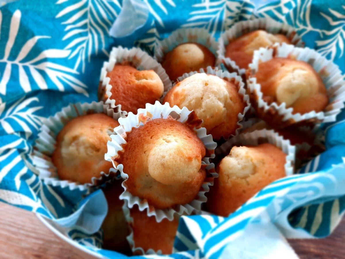 mini cake pommes raisin rhum - mijote et papote