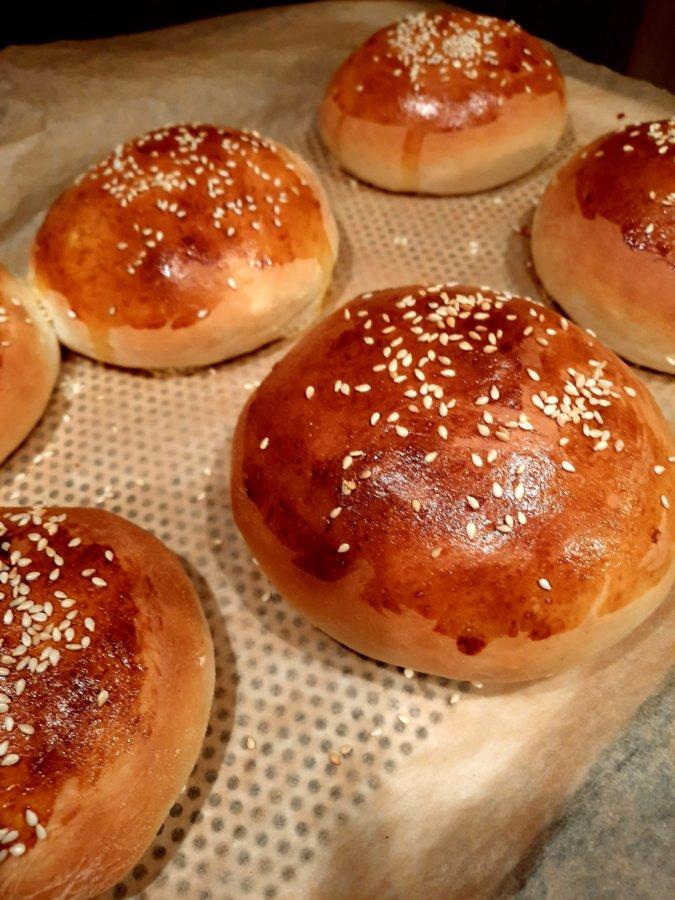 pain à burger rapide - mijote et papote