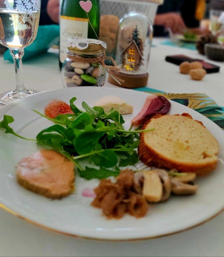 foie gras assiette - mijote et papote