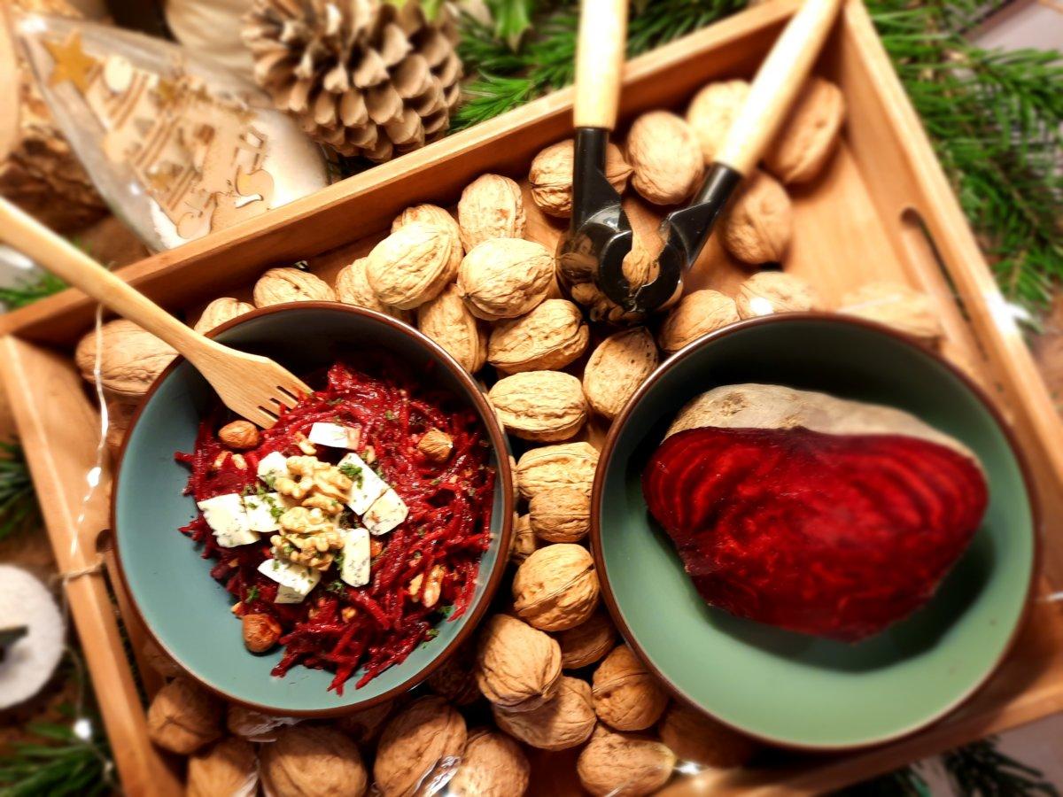 salade de betterave rouge - mijote et papote