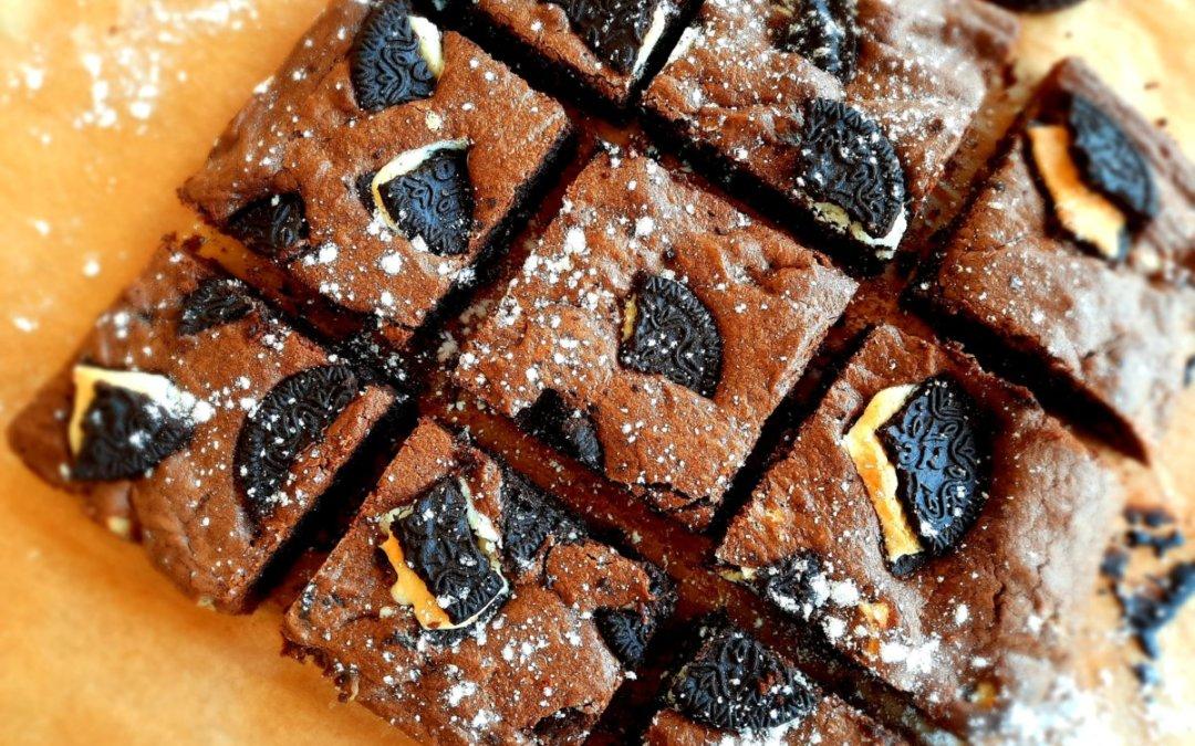 Brownie oréo
